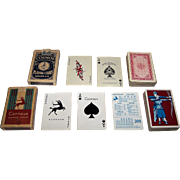 "2 Decks 1930s American Playing Cards, Original Jokers, $15/ea.: (i) Hurley Playing Card Co. ""Play-Well"" Playing Cards, c.1935; (ii) Arrco ""Centaur"" Playing Cards, c.1930s"