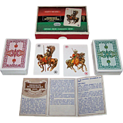 "Double Deck KZWP ""Odsiecz Wiedenska 1683"" (""Battle of Vienna 1683"") Playing Cards, c.1983"