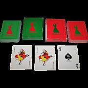 "Twin Decks Copag ""LPGA 1961 Women's U.S. Open"" Playing Cards, Baltusrol Country Club, c.1961"