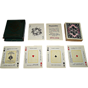 "USPC ""The Nile Fortune Telling Cards"" Fortune Telling Cards, c.1904"