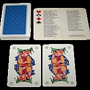 "Schrijen Voerendaal ""DSM Staatsmijnen"" Playing Cards, First Edition, Wim Simons Designs, c.1961"