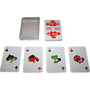 "ASS ""Overstolz"" Skat Playing Cards, Jan Buchholz and Leni Hinsch Designs, c.1975"