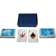 """Double Deck Brown & Bigelow """"Kansas Statehouse"""" Souvenir Playing Cards, Gift of Former Kansas Governor John Anderson, Jr., c.1961-1965"""