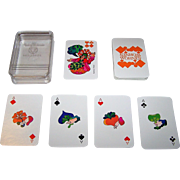 "ASS ""Schoener Wohnen"" Skat Playing Cards, Jan Buchholz and Leni Hinsch Designs, c.1969"