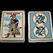 "Grimaud ""Pirates"" (""Pirates et Corsaires"") Playing Cards, Jean Bruneau Designs, c.1984"