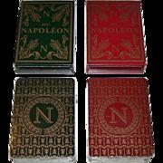 "Twin Decks Grimaud (France Cartes) ""Jeu Napoleon"" Playing Cards, Mlle. Matéja Designs, c.1969, $15/ea."
