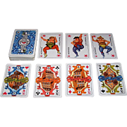 "Coeur ""Müggelsee Hotel"" Playing Cards, Harry Scheuner Designs, c.1987"