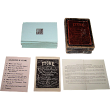 """J.S. Goodman """"Tyche: The Fireside Oracle"""" Fortune Telling Card Game, c.1874"""