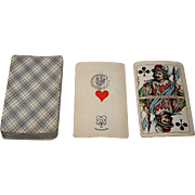 "Johann Peter Bürghers ""Berlin Pattern"" Playing Cards, c.1895"