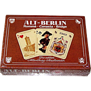 "Double Deck ASS ""Historic Berlin"" (""Alt Berlin"") Playing Cards, c.1975 $30"