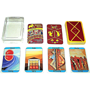 "ASS ""Widder Tarot"" (""Aries Tarot"") aka ""Hornsteiner Tarot,"" Astrological Fortune Telling Cards,"