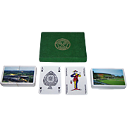 "Double Deck Waddington ""Wimbledon"" Playing Cards, 1974-1995"