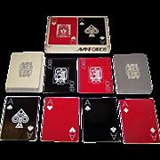 "Double Deck Franklin Merchandising ""Avant Cards,"" Terry Martin Rose Designs, c.1971"