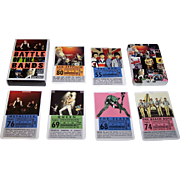 "Laurence King Publishing, Ltd. ""Battle of the Bands: Rock Trump Cards"" Card Game, Mikkel Sommer Illustrations, Stephen Ellcock Text"