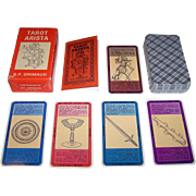 """Grimaud """"Tarot Arista"""" Tarot Cards, c.1964"""