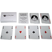 "Grimaud ""Le Jeu des Medecins"" Playing Cards, Pino Zac Designs, 1983"