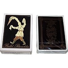 "Grimaud ""Ballet Petrouchka"" Playing Cards, c.1988"