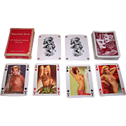 "Piatnik ""Beautiful Girls"" Erotic Pin-Up Playing Cards, c.1955"