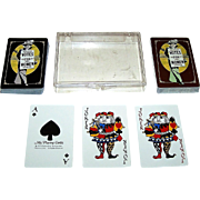 "Double Deck Ms. Playing Cards ""Lib Deck"" Playing Cards, Professional Trading Aids Copyright, c.1975"