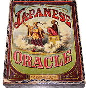 "McLoughlin Bros. ""Japanese Oracle"" Fortune Telling Card Game, c.1875"