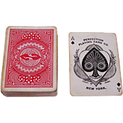"Perfection Playing Card Co. ""Leader #325"" Playing Cards (52/52, NJ), c.1890"
