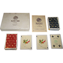 "Double Deck Fournier ""Romance Espagnol"" Playing Cards, C.S. de Tejada Designs, c.1965"