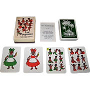 "Piatnik ""Ten Piccaninnies"" Card Game, c.1965"