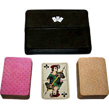 "Double Deck Muller ""Patience No. 17"" Playing Cards, Children Court Cards, c.1895"