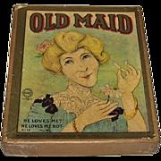 "Milton Bradley ""Old Maid"" Card Game, c.1905"