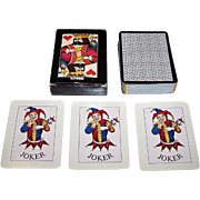"Muller ""Ilford"" Playing Cards, Mario Grasso Designs, c.1981"