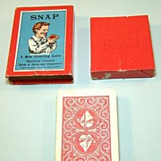"Spears (Bavaria) ""Snap"" Card Set, English Designs, Hand Painted, ""Grotesque Characters,"" c.1880s"