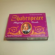 Double Deck of Carta Mundi (U.S. Games) Shakespeare Playing Cards, Virginijus Poshkus Illustrations