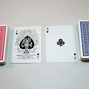 "Double Deck A. Dougherty ""American Whist League No.109"" Playing Cards, c.1895"