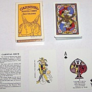 "Historic New Orleans Collection ""Carnival Deck"" (Mardi Gras) Playing Cards, Maker Unknown, Reprint 1925 Harry Wallace Designs, c.1981"