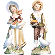 Lefton Provincial Boy and Girl 6988
