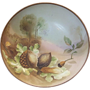Hand Painted Nippon Morimura Footed Nut Bowl