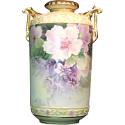 Hand Painted Nippon Morimura Moriage Vase