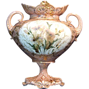 R. S. Steeple Germany Floral Vase