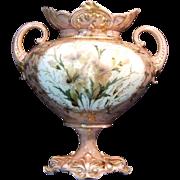 R. S. Steeple Germany Floral Vase