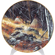 Bradford Exchange He Who Watches Collector Plate by Julie Kramer Cole 5th in Collection