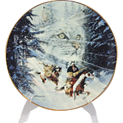 Bradford Exchange Twice Traveled Trail Collector Plate by Julie Kramer Cole 6th in Collection