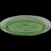 Hazel-Atlas New Century Oval Platter in Green