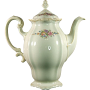 Rosenthal-Continental Pompadour Style Coffee Pot Pattern 3418