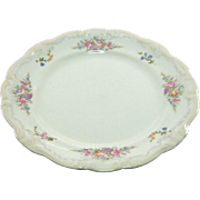 Rosenthal-Continental Pompadour Style Bread and Butter Plate Pattern 3418