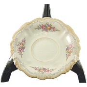 Rosenthal-Continental Pompadour Style Demitasse Saucer Pattern 3418