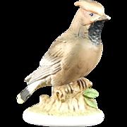 Lefton Waxwing Bird Japan KW6609