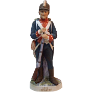 Lefton 1802 Infantry Soldier KW181