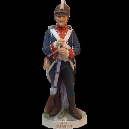 Lefton 1802 Infantry Soldier KW181