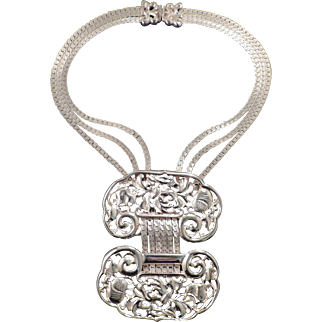 Judith Leiber Runway Necklace