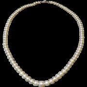 Mikimoto Graduated Pearl Necklace